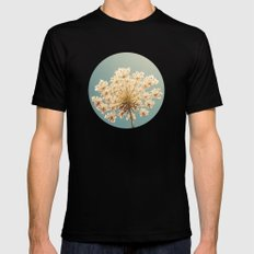 Queen Anne's Lace Mens Fitted Tee Black SMALL