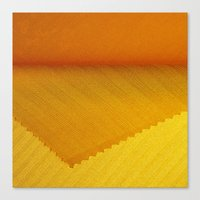Yellow Cover Canvas Print
