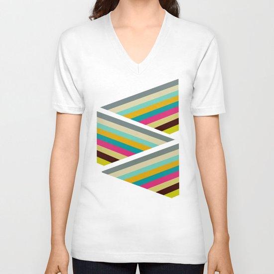 razzle V-neck T-shirt