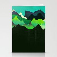 Landscape Slice Stationery Cards