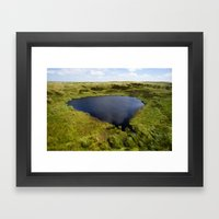 Mermaid's Pool Framed Art Print