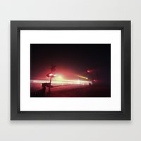 The Ghost Of Rapid Trans… Framed Art Print
