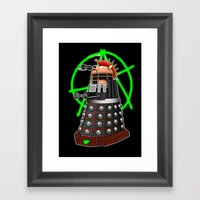 Punk Dalek Framed Art Print