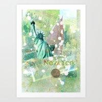 New York Art Print