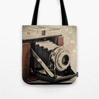 Vintage Camera Magic Tote Bag
