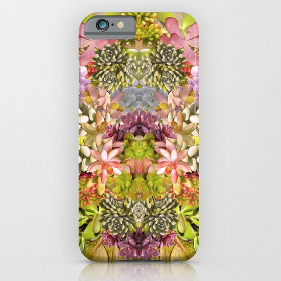 Succulent Garden iPhone & iPod Case
