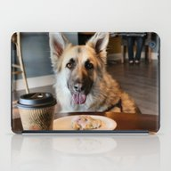 Coffee With The Pup iPad Case