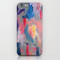 No. 60 Multicolour Modern Art Abstract iPhone 6s Slim Case