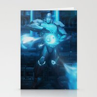 Mecha Series // Seth Stationery Cards