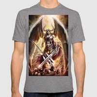 Lucifer Mens Fitted Tee Tri-Grey SMALL
