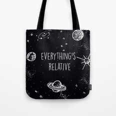 Everything's  Relative Tote Bag