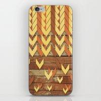 ZigZag Woody iPhone & iPod Skin