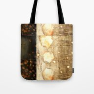Tote Bag featuring Brown And Beige by Haroulita