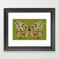 Polymorphism - Colour Framed Art Print