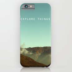 explore things iPhone 6 Slim Case