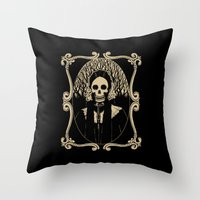 Madame Throw Pillow