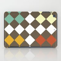 Checkers Fall iPad Case