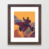Hooked On a Feeling Framed Art Print