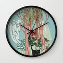 A Stick-Insects Dream Wall Clock