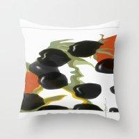 antipasto / olives Throw Pillow