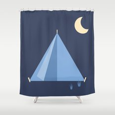 #83 Tent Shower Curtain