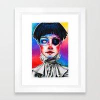 madchen Framed Art Print