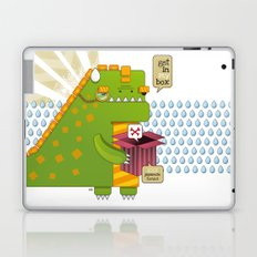 Godzilla get´s hungry!!! Laptop & iPad Skin