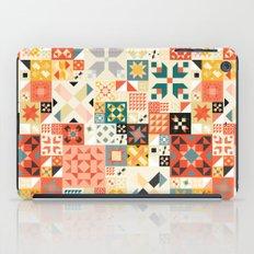 Modern Quilt Pattern iPad Case