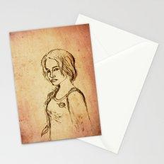 Katniss - Portrait Stationery Cards