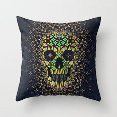 Skull 6 Throw Pillow