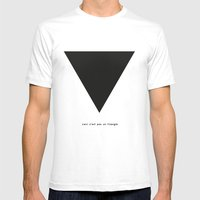 Ceci N'est Pas Un Triang… Mens Fitted Tee White SMALL