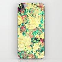Vintage Flowers XXXVIII - for iphone iPhone & iPod Skin