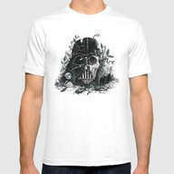 Requiem For A Skywalker Mens Fitted Tee White SMALL
