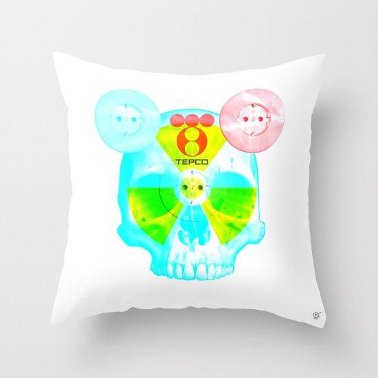 Fukushima - mon amour 2013 Throw Pillow