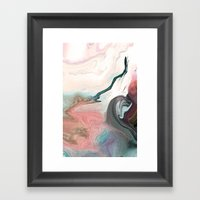 OSTRACIZED!! Framed Art Print