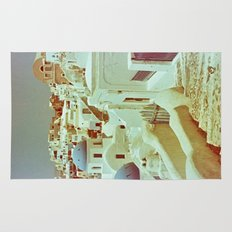 Santorini in Raspberry and Blue II: shot using Revolog 600nm special effects film Rug