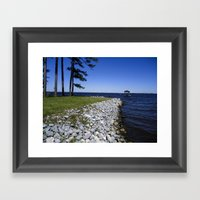 Beautiful Blues Framed Art Print