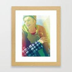 Cowhouse (Jesse Pinkman - Breaking Bad) Framed Art Print