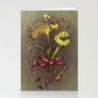 Carnivorous Bouquet  Stationery Cards