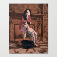 Elementary - That Kinky … Canvas Print