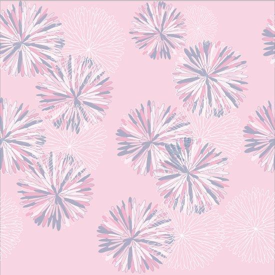 Soft Retro Bloom Art Print