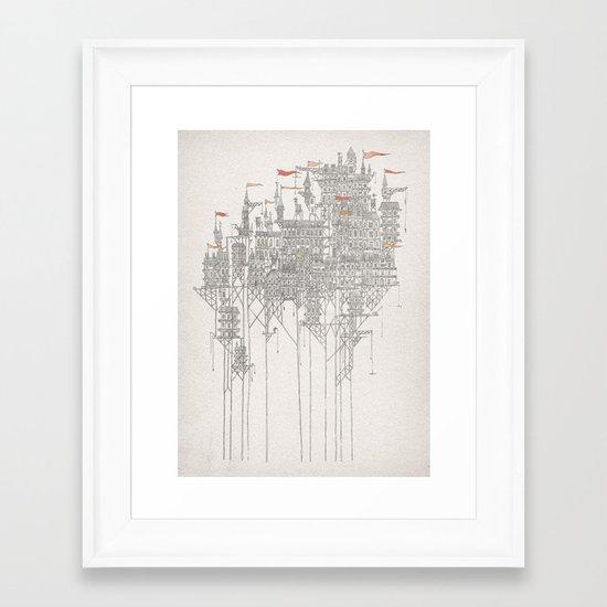 Zenobia Framed Art Print