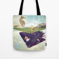 Quantic Jump Tote Bag