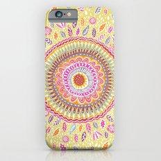 Yellow Sunflower Mandala Slim Case iPhone 6s