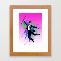 Astaire Fred, still dancing. Framed Art Print