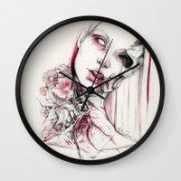 pollen Wall Clock