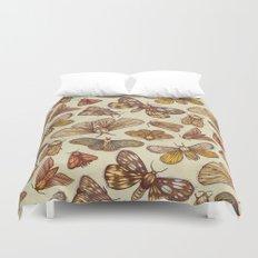 Moth Pattern Duvet Cover