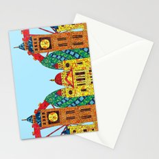 London Icon Building Mozaic Stationery Cards