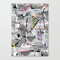 Graphic 83 Canvas Print