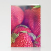 Les Fraises Stationery Cards